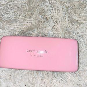 Pink Kate spade pink eyeglass case